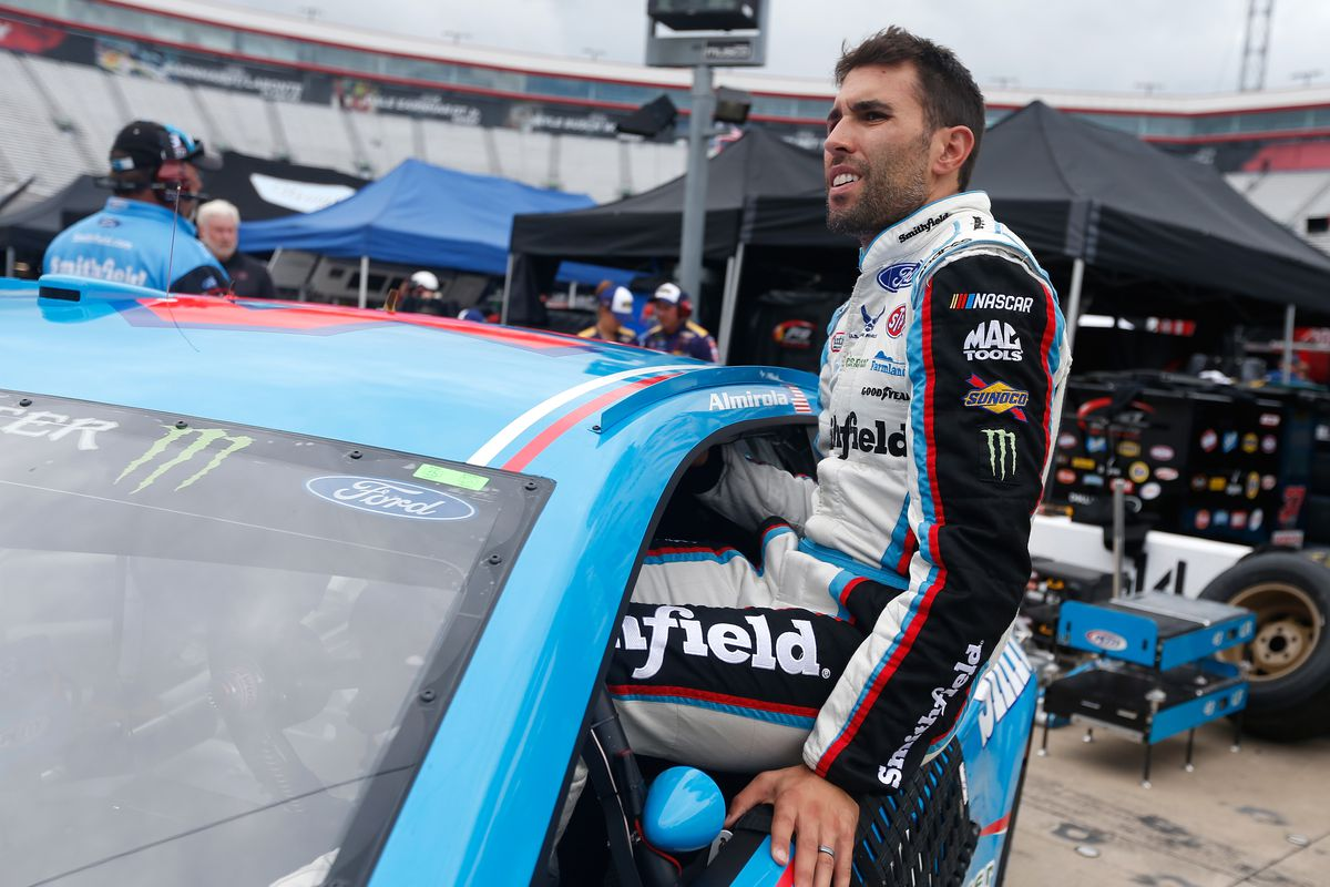 Aric Almirola on move to SHR: