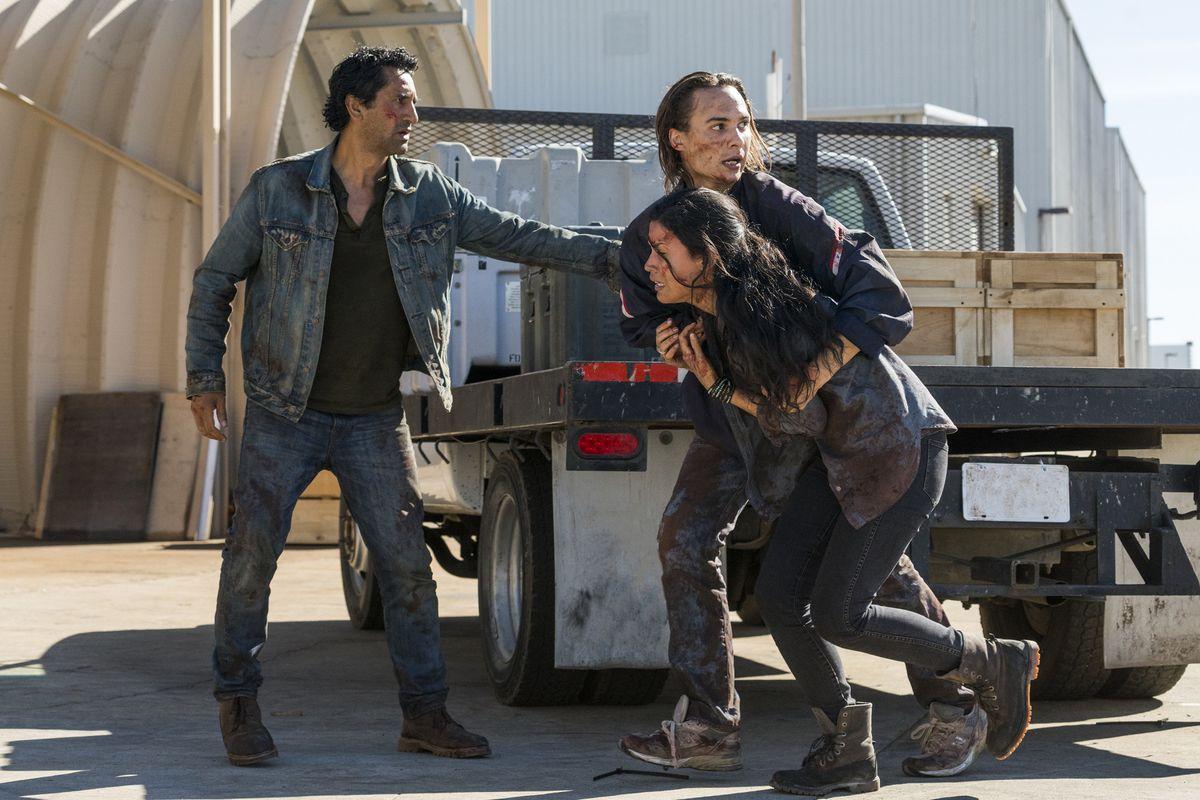 Fear The Walking Dead Travis Death