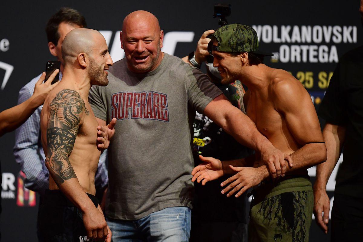 MMA: UFC 266 Weigh-Ins