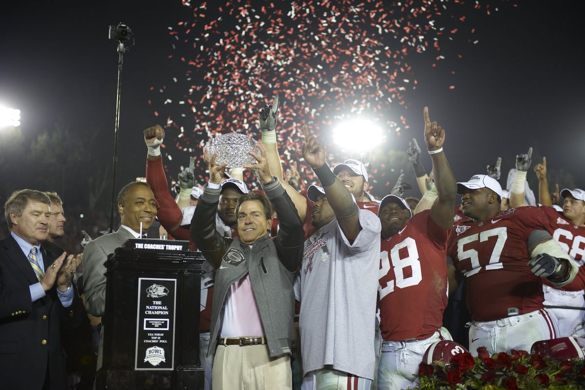 University of Alabama vs University of Texas, 2010 Citi BCS National Championship Game