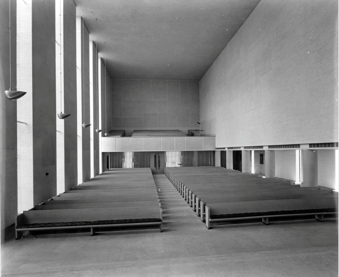 Interior of First Christian Church