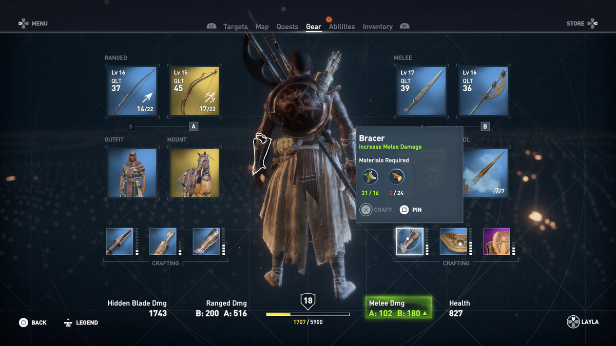 Assassin S Creed Origins Guide Crafting Polygon