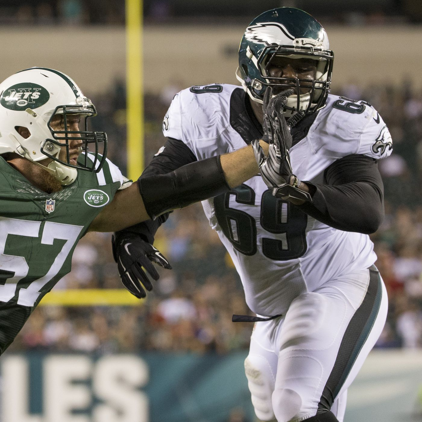 f87e00a580e Eagles News: Doug Pederson is excited about two of Philadelphia's young  offensive linemen