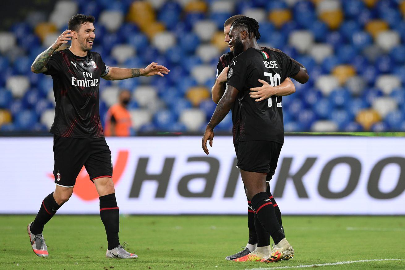 AC Milan Player Ratings: Milan 2-2 Napoli