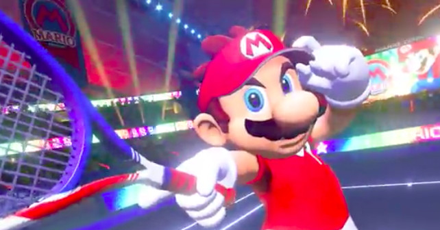 Mario Tennis Aces announced for Switch