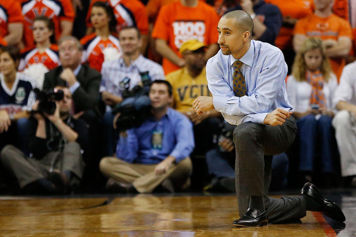 Man of the hour, VCU coach Shaka Smart.