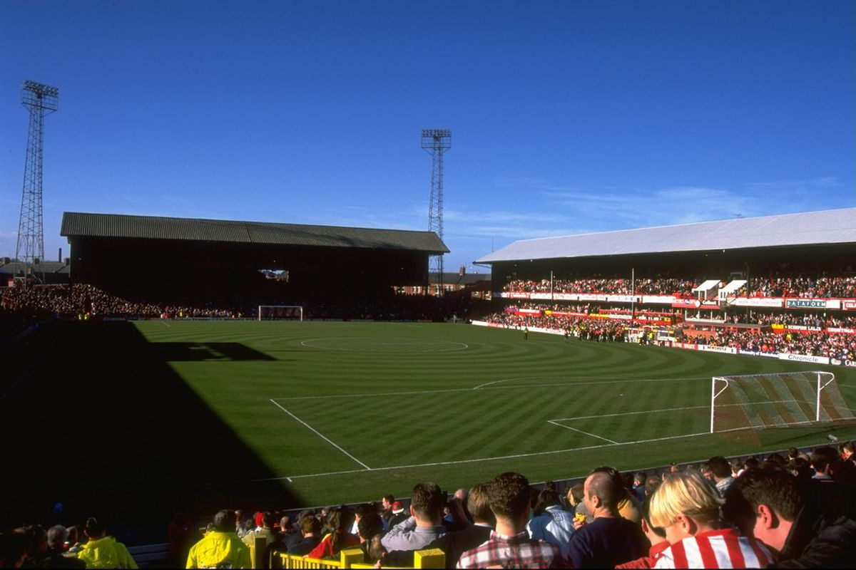 Roker Park - Ready and waiting for what was to be a famous victory.