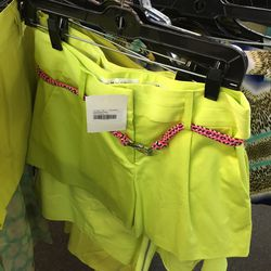 Milly neon shorts, $40