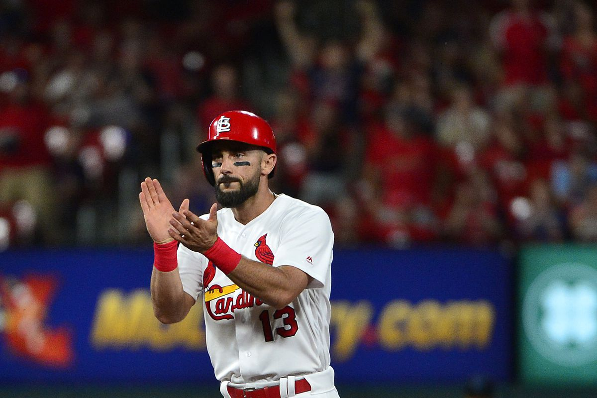 Matt Carpenter hit an infield double and it was fantastic - A Hunt and Peck