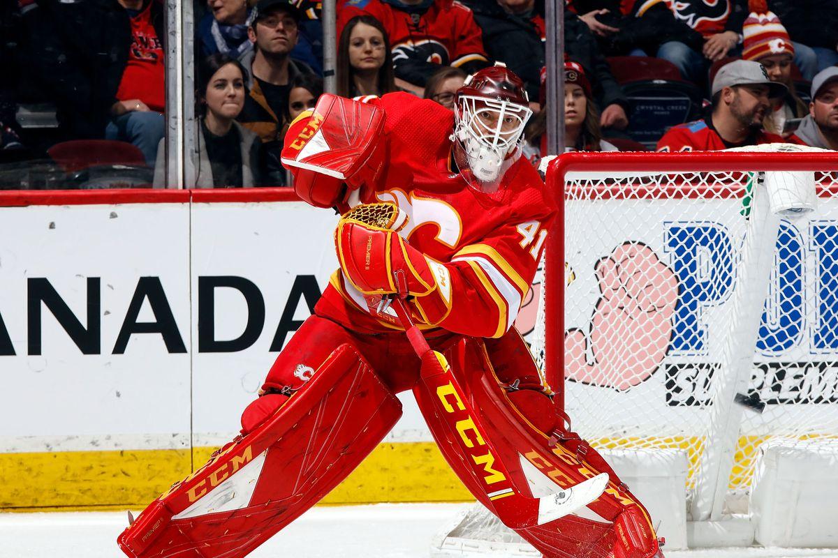New York Islanders v Calgary Flames