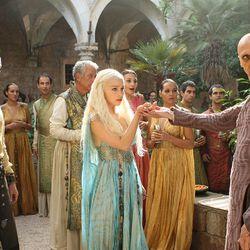 Season 2: Daenerys's best hair season, hands down. The sorcerer desperately needs some undereye concealer, though.
