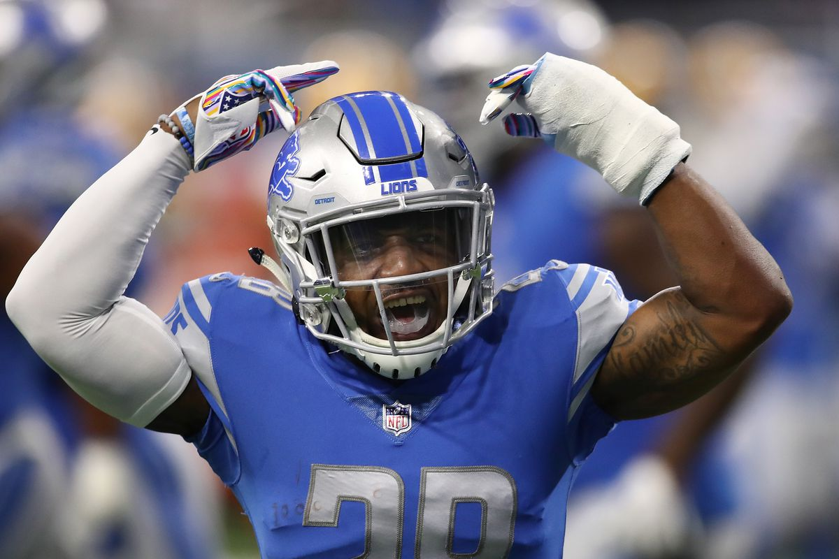 d7974409 Detroit Lions players react to 31-23 win over Green Bay Packers ...