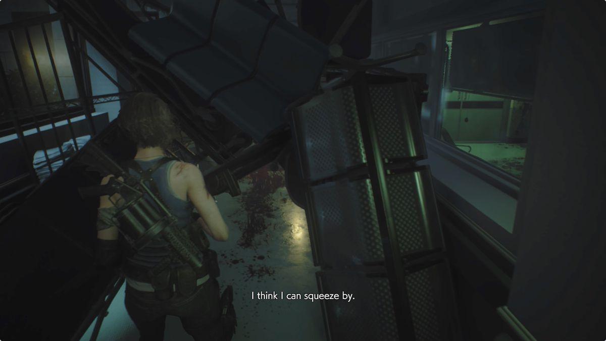 Resident Evil 3 Jill Hospital
