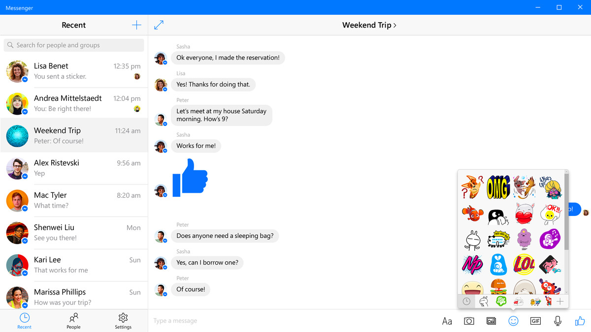 New Facebook and Messenger apps arrive on Windows 10 today