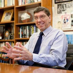 Clayton M. Christensen is the Kim B. Clark Professor of Business Administration at the Harvard Business School. At heart, he also sees himself as a missionary for the LDS Church.
