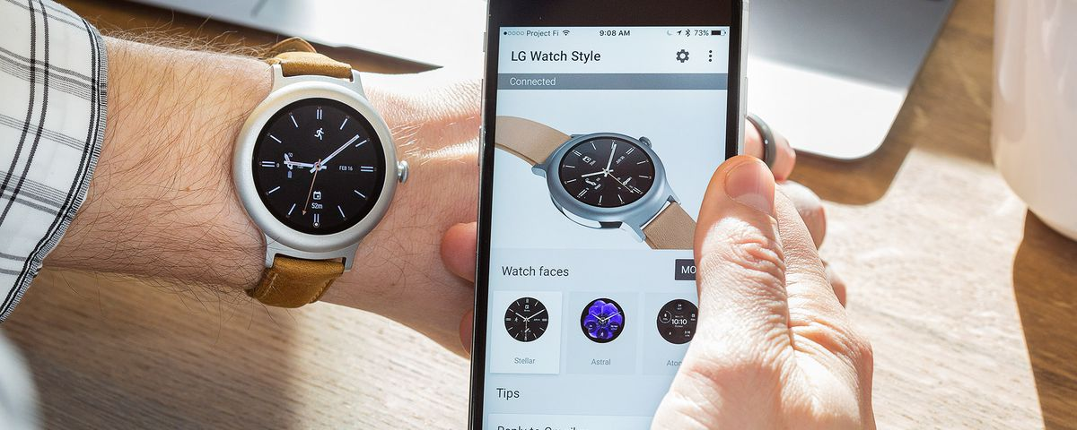 26392fd814c Android Wear with an iPhone still can t compete with the Apple Watch - The  Verge
