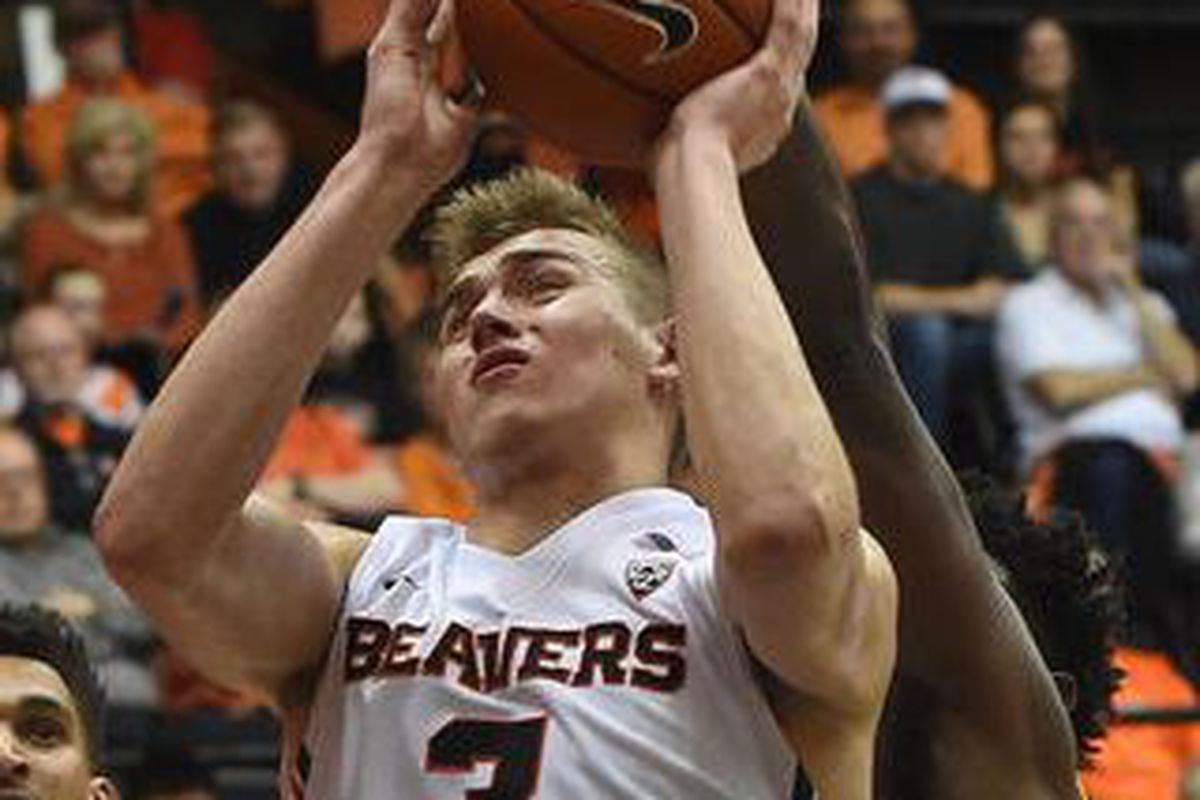 Tres Tinkle made his first collegiate start against UCLA, and had a 15 point, 8 rebound night. Another such effort will help Oregon State today against USC.