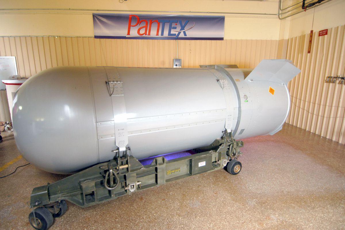 Flickr - nuclear warhead