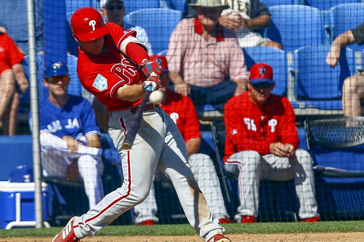 MLB: Spring Training-Philadelphia Phillies at Toronto Blue Jays