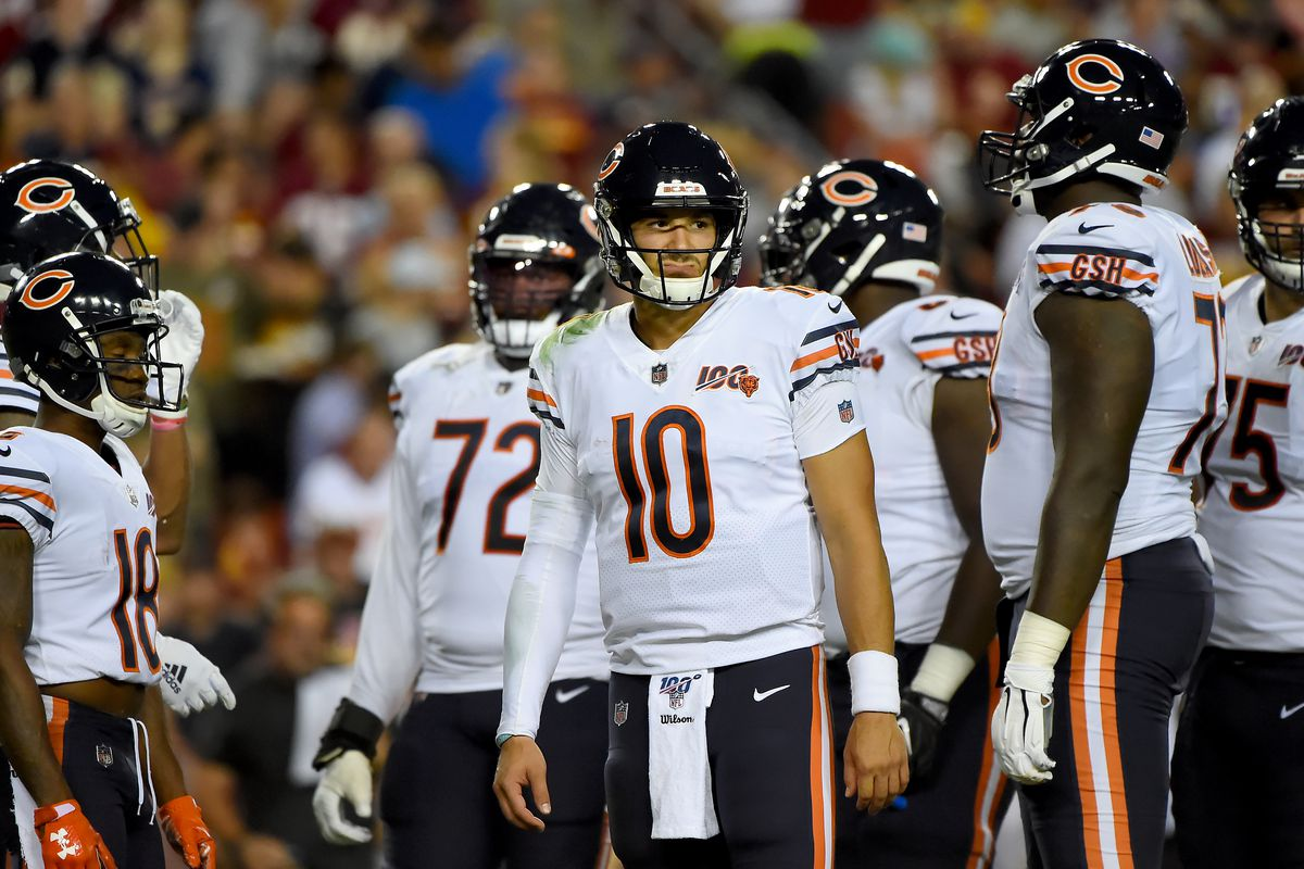 premium selection 74993 7224e Bears rock Redskins, but questions linger about where they ...