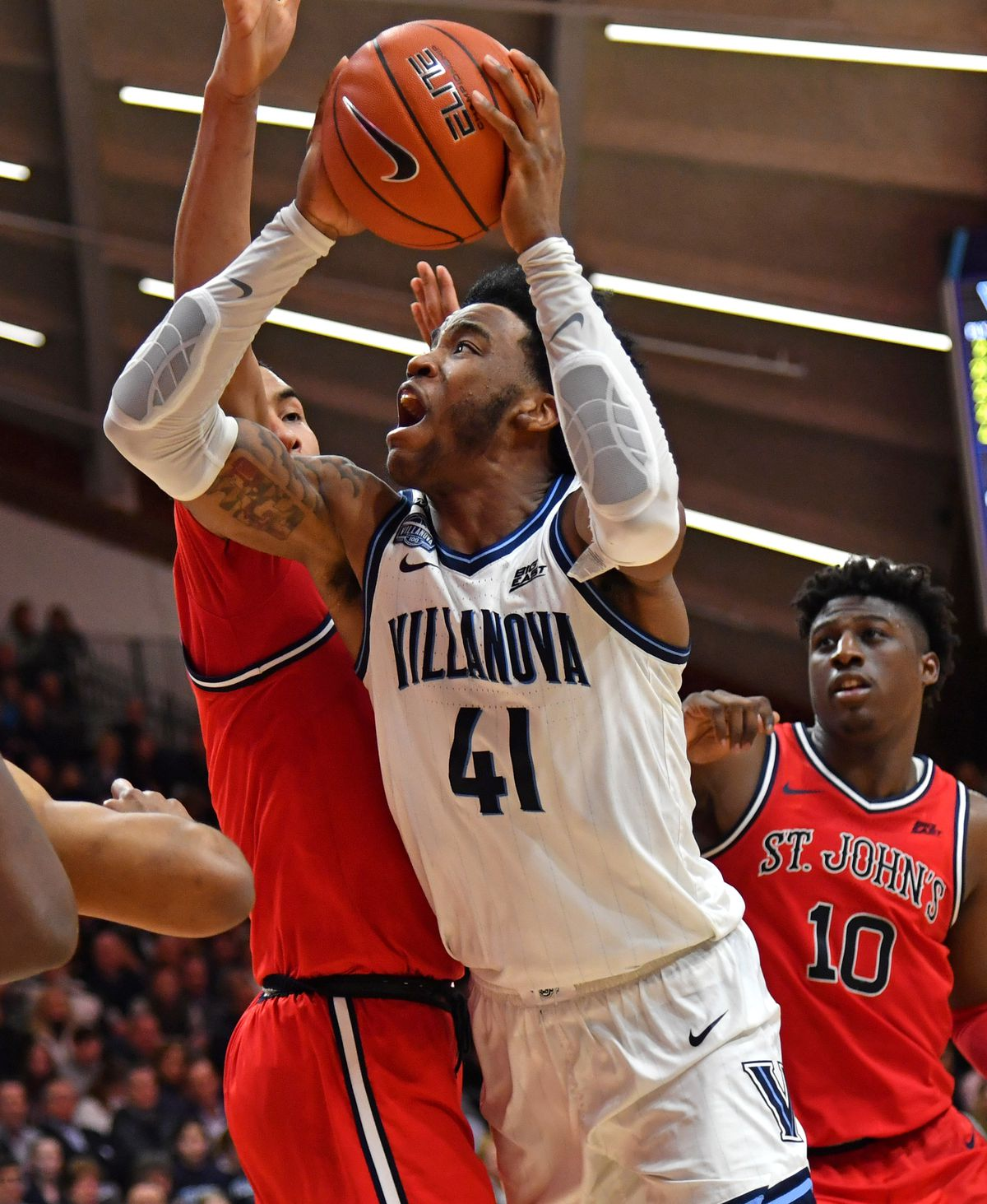 NCAA Basketball: St. John at Villanova