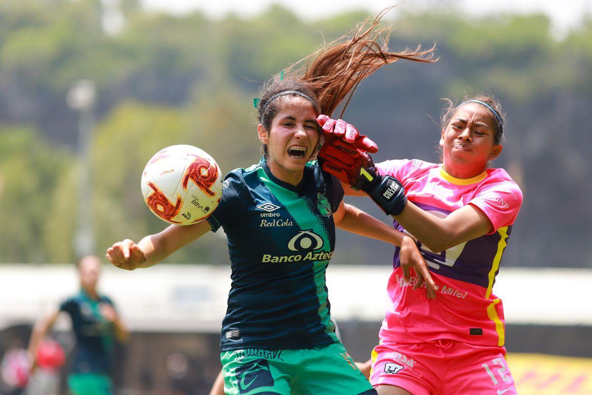 Pumas UNAM v Puebla - Torneo Guard1anes 2020 Liga MX Femenil