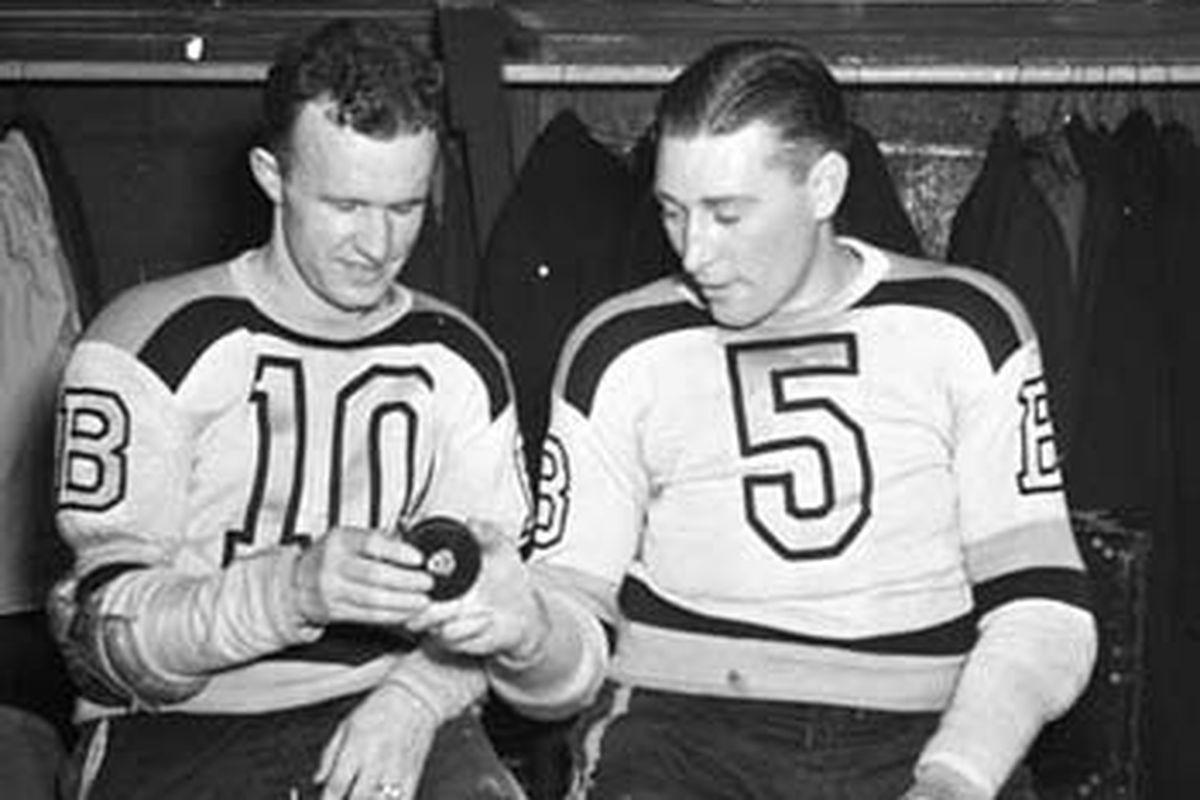 Dit Clapper and Bill Cowley