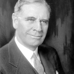 George H. Dern, Utah's sixth governor, 1925 - 1933. He was appointed to be the U.S. secretary of war in 1933.