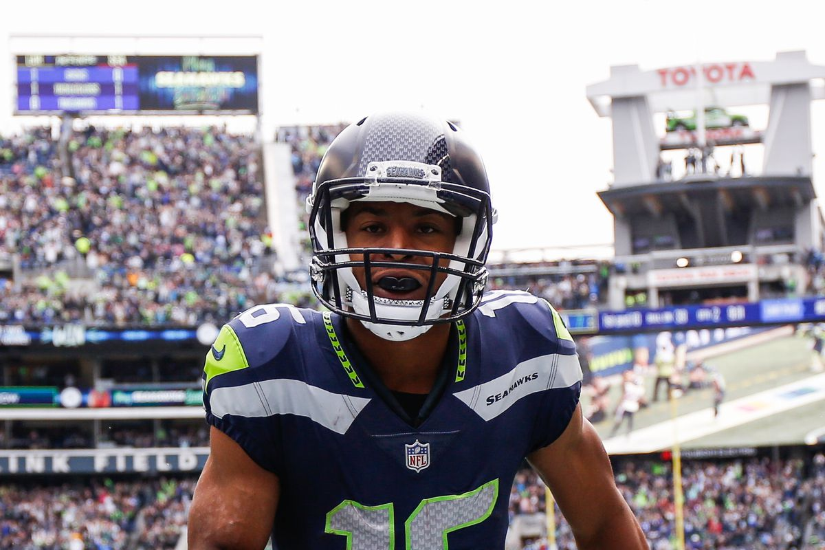 new style 4c4fd 1d868 WR Tyler Lockett is on course to outplay his brand new ...