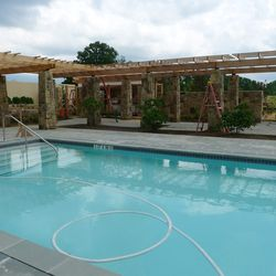 Yes, there will be dining pool-side at the spa, with a focus on healthy, light fare.