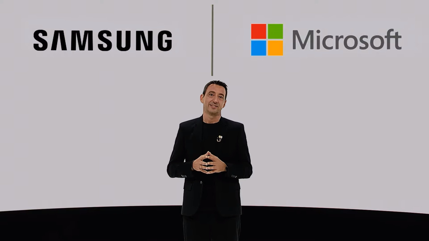 Samsung works together with Microsoft