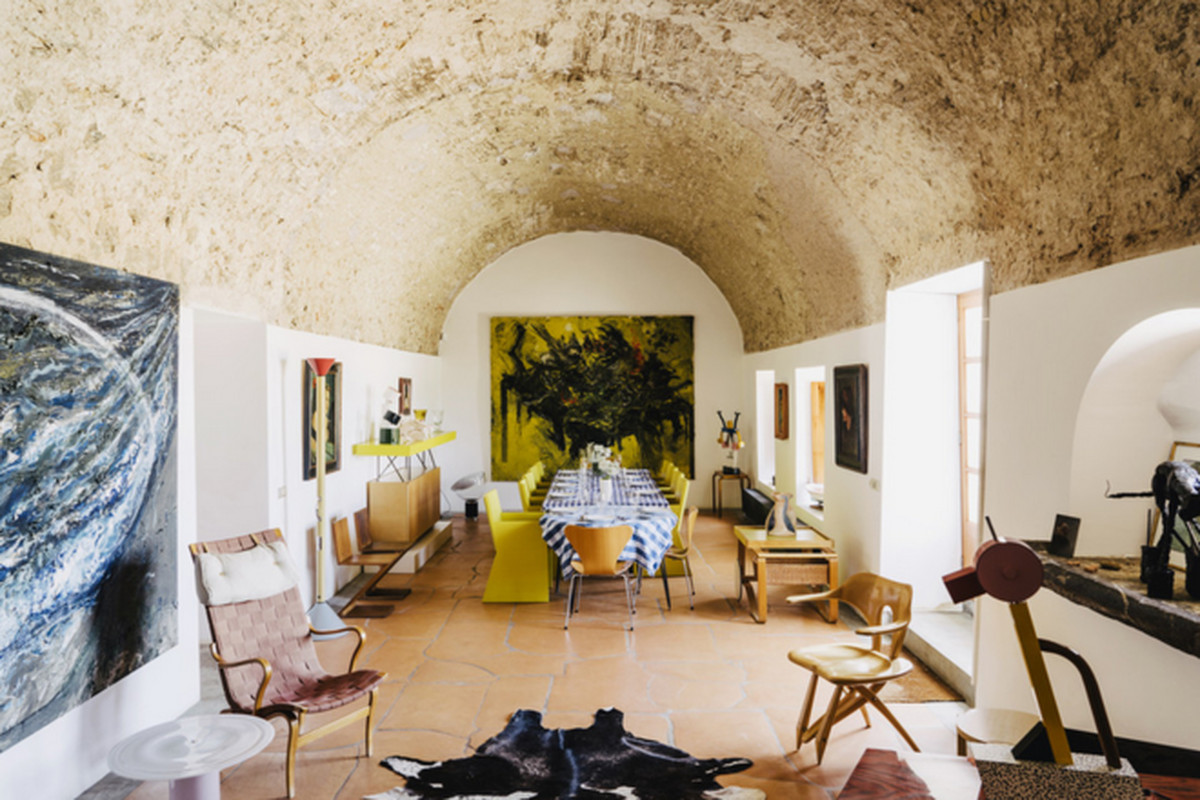 """All photos by Salva López via the <a href=""""http://www.wsj.com/articles/miquel-barcelo-turns-a-childhood-obsession-into-a-home-in-mallorca-1435845857"""">Wall Street Journal</a>"""
