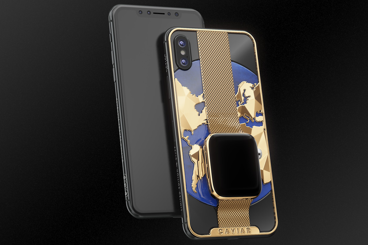 new arrival 179fd d699c Caviar's combined iPhone XS / Apple Watch fever dream could be yours ...