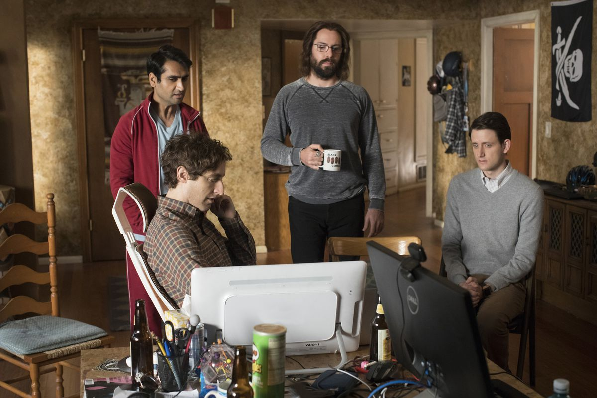 """The cast of """"Silicon Valley"""""""
