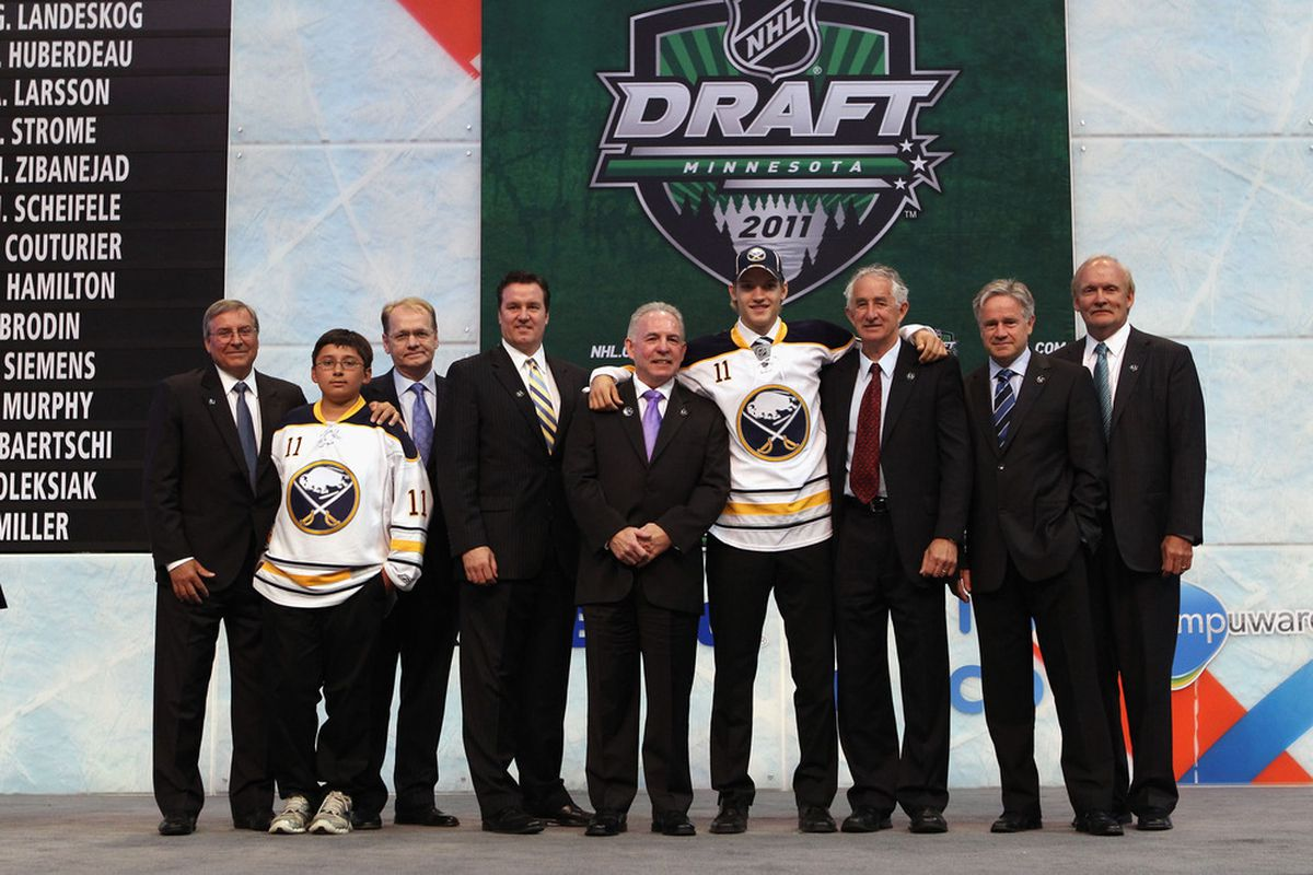 I didn't realize the Sabres also drafted Terry Pegula's son. Seems like an abuse of power.