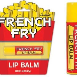 """<a href=""""http://www.neatoshop.com/product/French-Fry-Lip-Balm?tag=1700"""">French fry</a>: $2.95"""