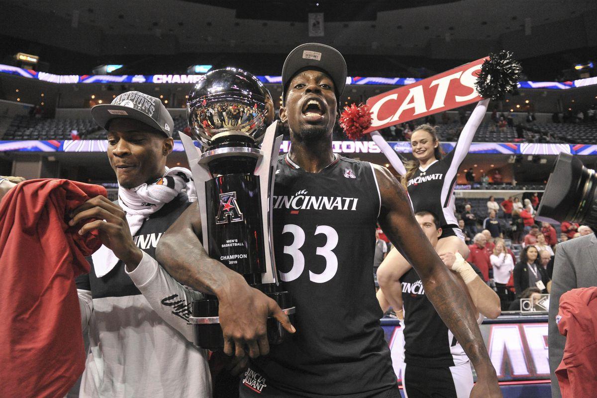 Cane Broome Cincinnati Bearcats Basketball Jersey-Black