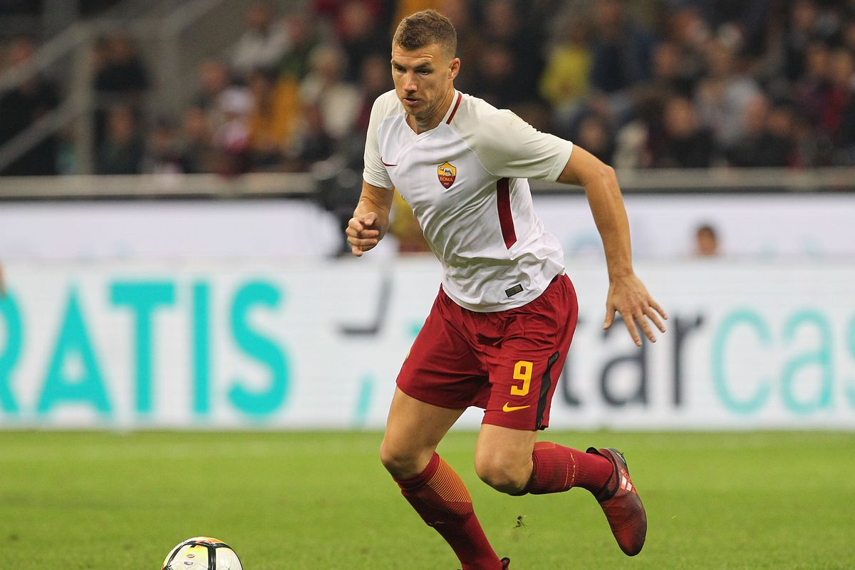 Edin Dzeko Named Ballon d Finalist Chiesa Di Totti
