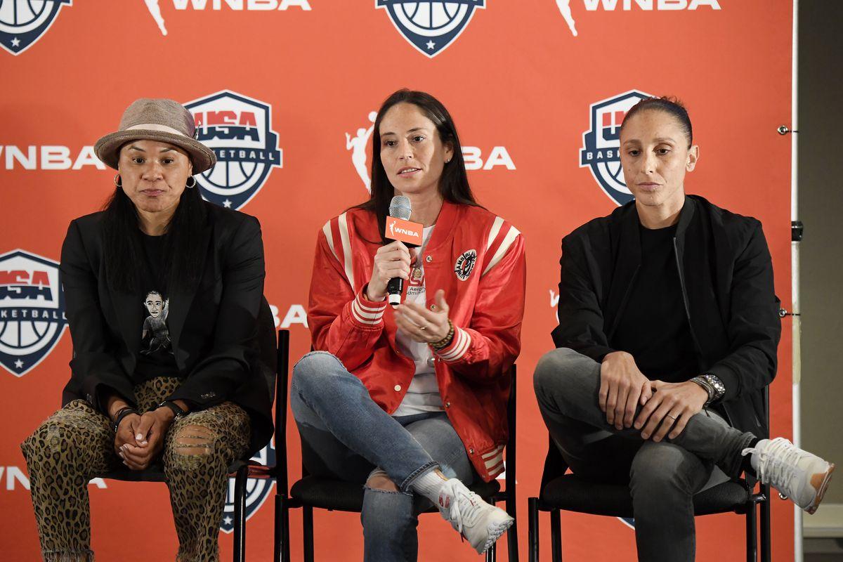 USAB and WNBA Press Conference