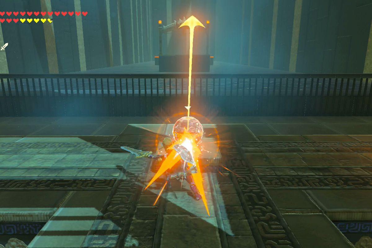 Zelda Breath Of The Wild Guide Mirro Shaz Shrine Location