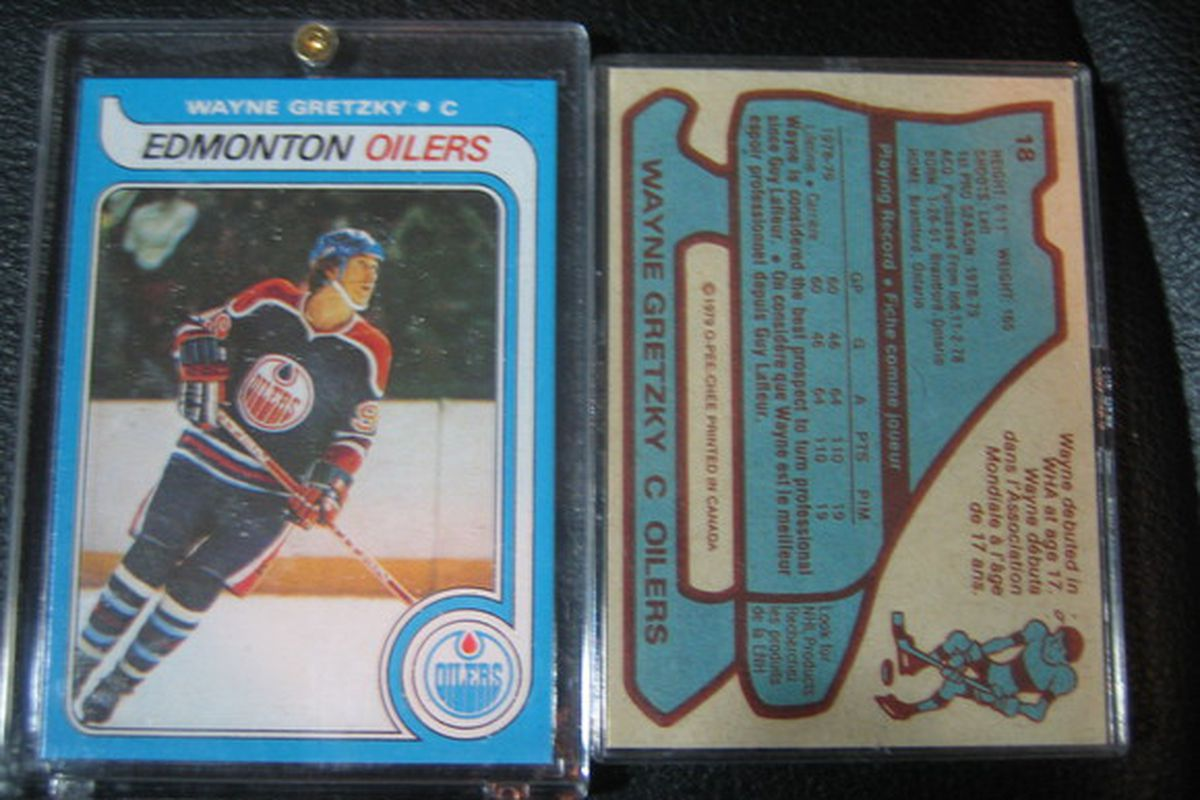 """This """"rookie"""" card of an ineligible rookie is likely the most famous hockey card ever published. As a 24-year-old in my own """"first NHL season"""" I collected the full O-Pee-Chee set of 396 cards which ranks high among my favourite memorabilia."""