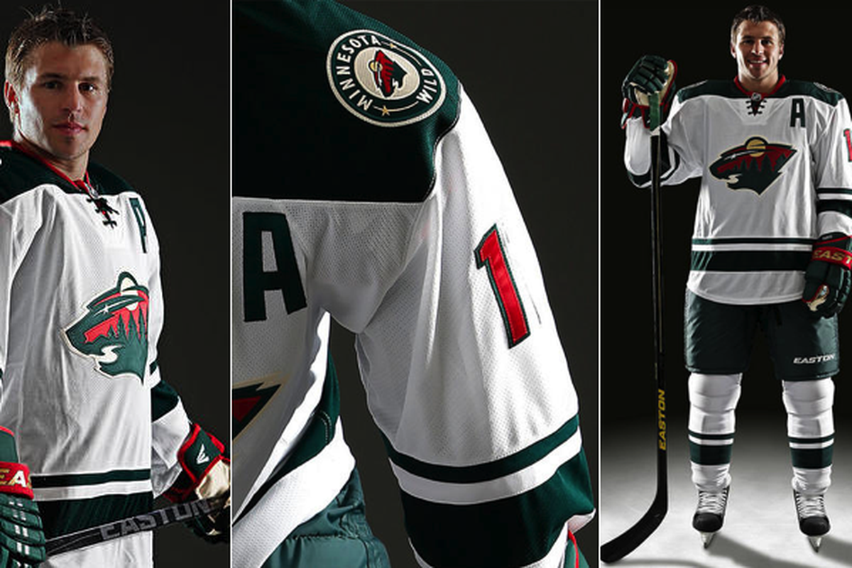 Share Wild s new road jerseys leak. tweet share Reddit Pocket Flipboard  Email. Minnesota Wild 034ca03b0