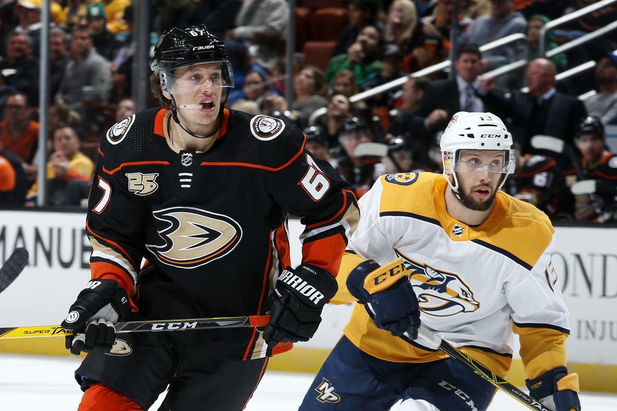 Nashville Predators v Anaheim Ducks