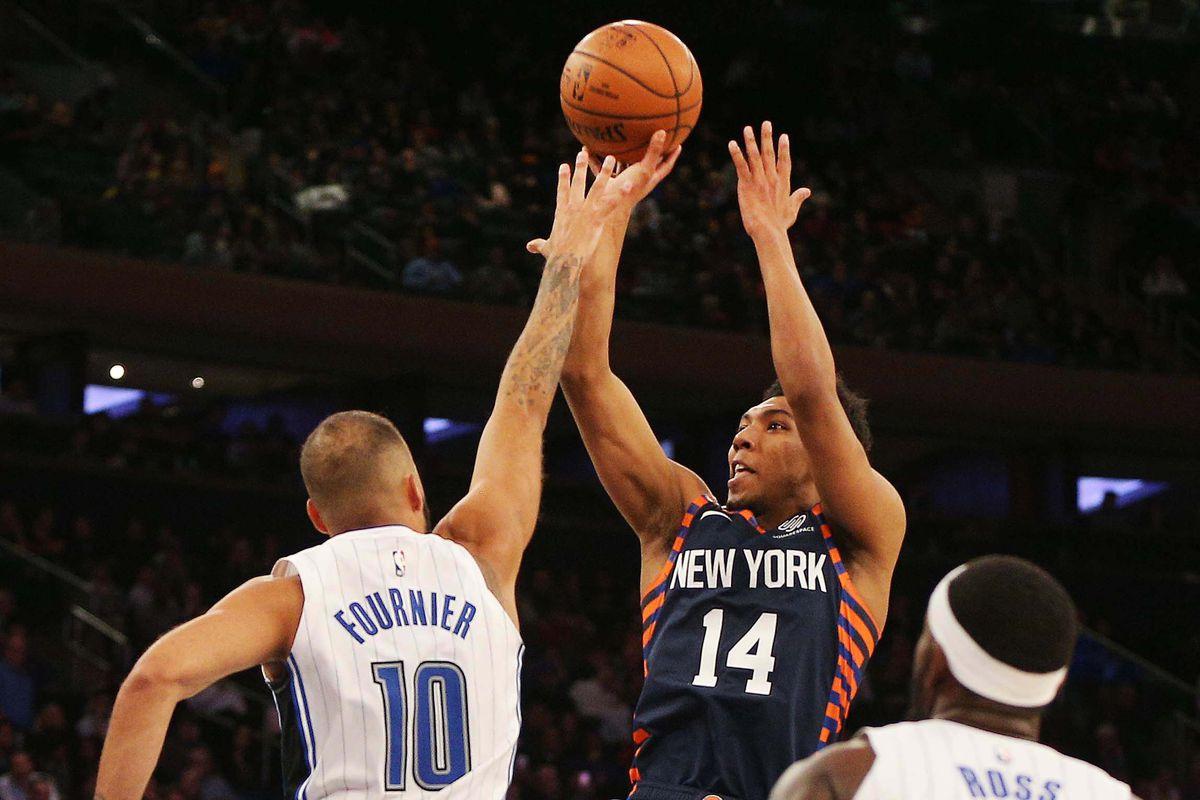 NBA: Orlando Magic at New York Knicks