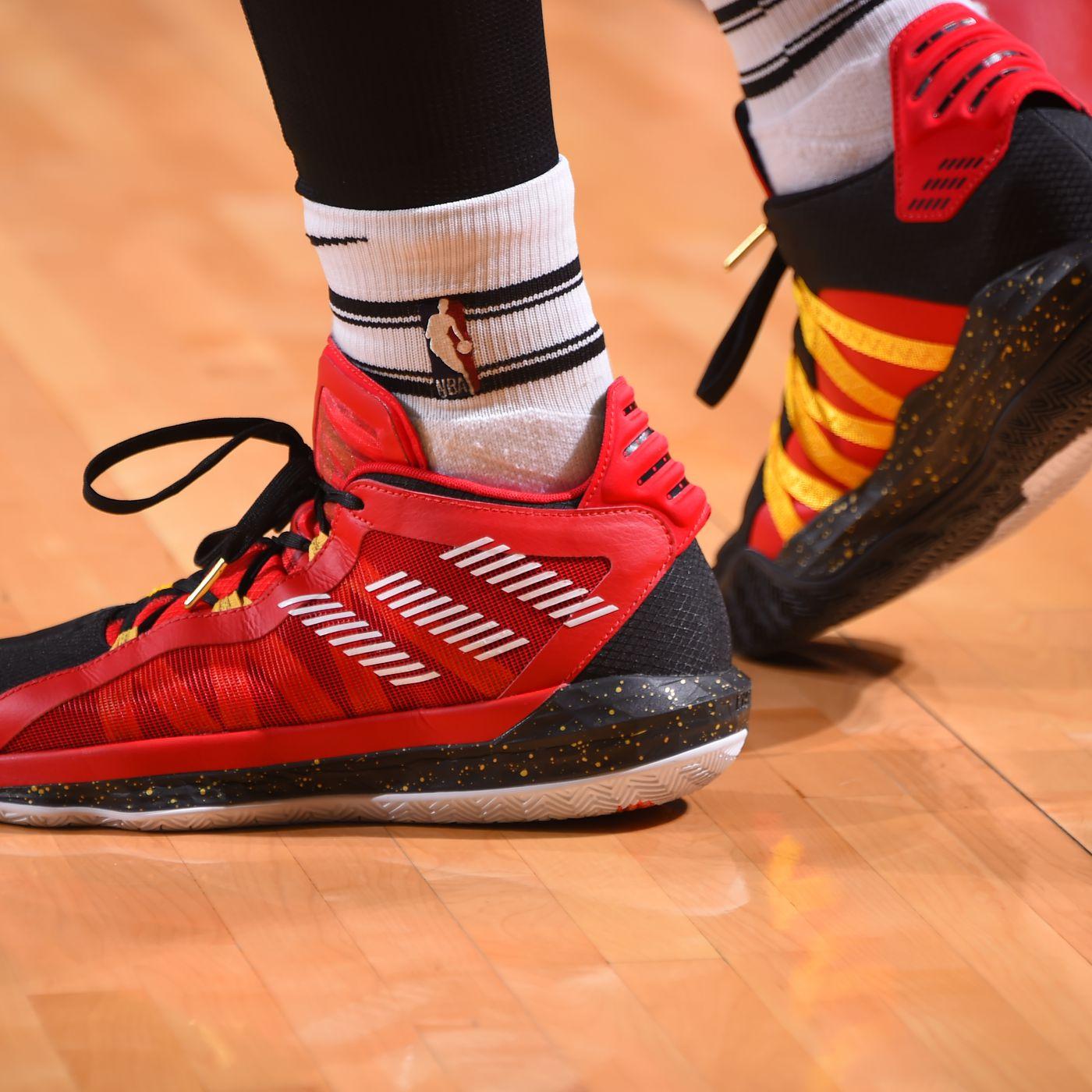 Heckler Spurs Damian Lillard's Relationship with Adidas