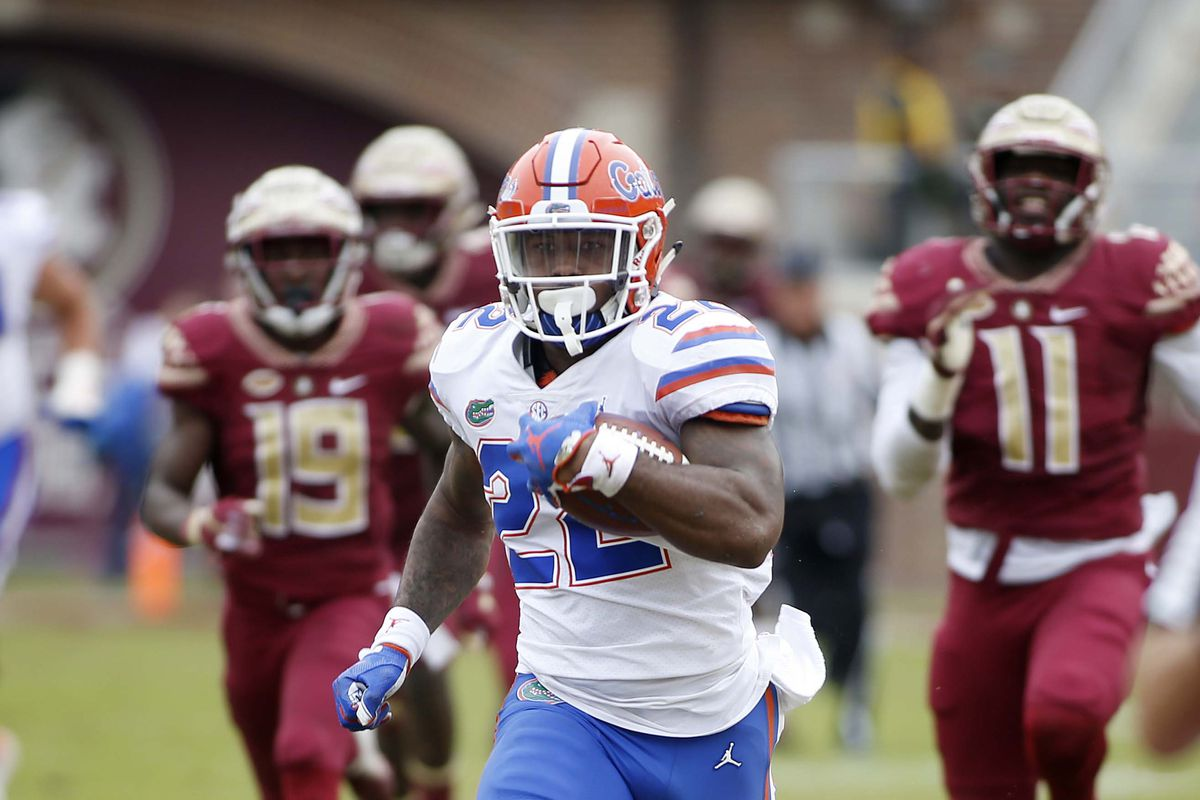 watch cba3e e1ada Assessing Florida's position at running back - Alligator Army