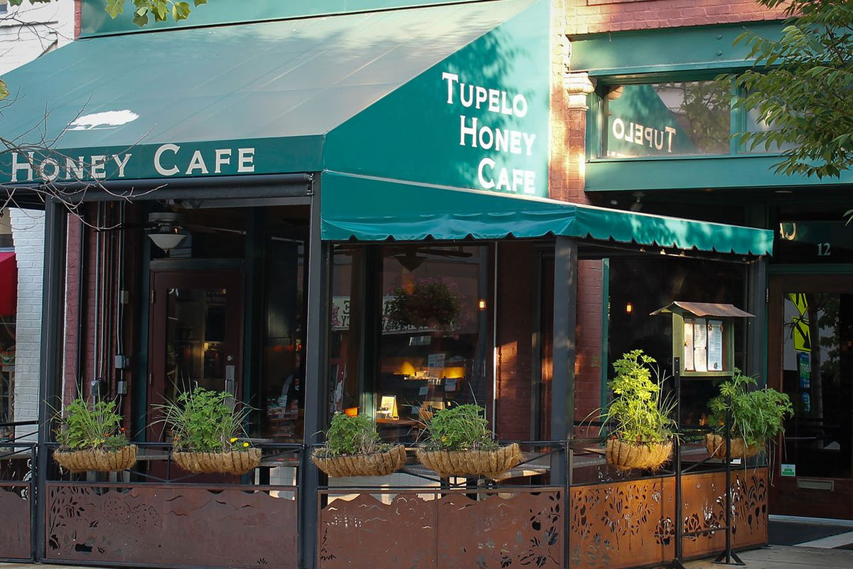 Tupelo Honey Cafe in downtown Asheville.