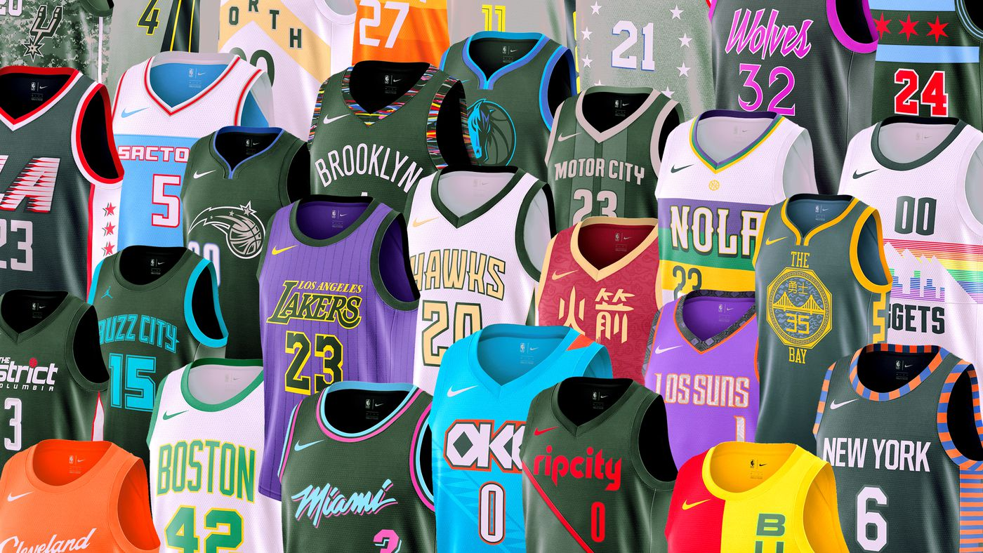 """873cb2c83b3 The Best and Worst of the NBA s New """"City Edition"""" Jerseys - The Ringer"""