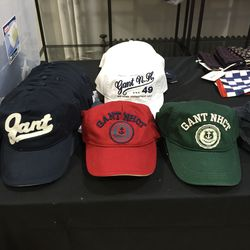Baseball caps, $25