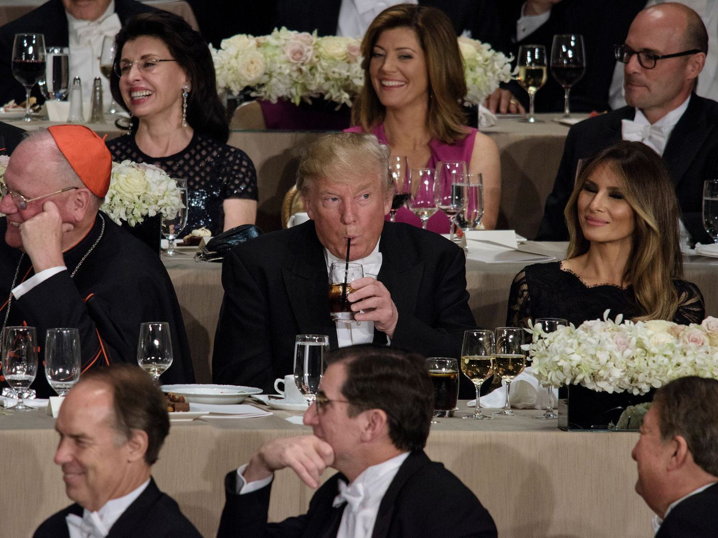 how many diet drinks does trump drink